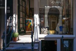 Spiegelkwartier kunst shopping antikviteter Amsterdam