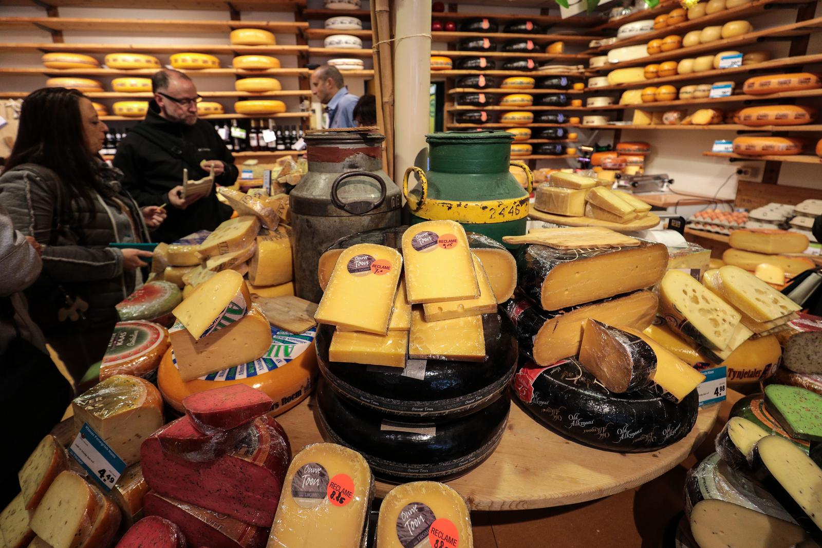 Amsterdam shopping kjøpeguide gouda ost