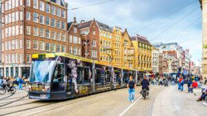 trikk Amsterdam kollektivtrafikk offentlig trafikk