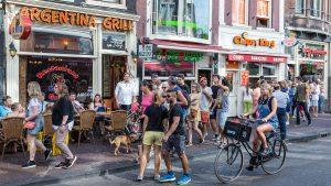 Turist reise til Amsterdam